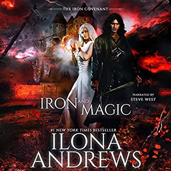 Audiobook cover for Iron and Magic